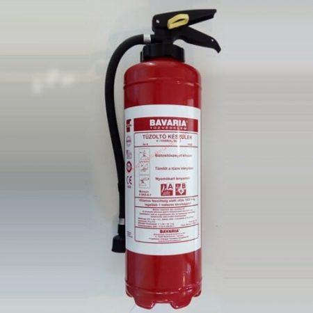 BAVARIA 6 literes habbal oltó Oldószerek és alkoholok oltására - Monsun 6 SPO-1