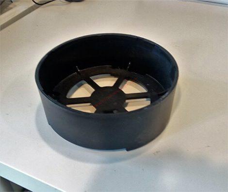 Műanyag talpgyűrű 12 kg-os készülékhez