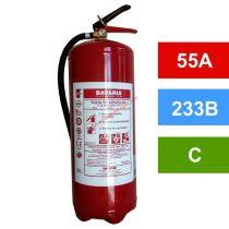 BAVARIA PRÉMIUM 12 kg-os ABC porral oltó 55A 233B – VoleX P12 (+ fali tartó)