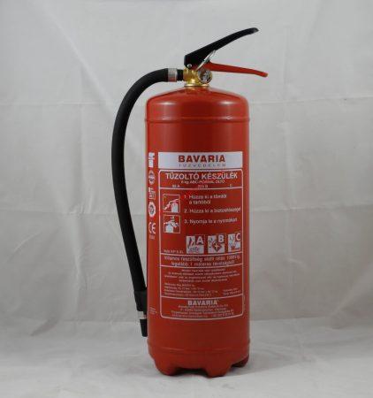 BAVARIA PRÉMIUM 6 kg-os ABC porral oltó 55A 233B C Maximális teljesítmény - VoleX P6 XL + fali tartó ajándékba