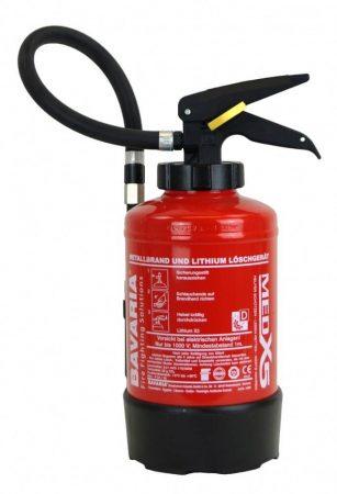 BAVARIA LITHIUM X3 AVD tűzoltó készülék fém tüzek oltására