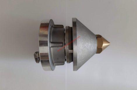 Tisztítófej D-25 tömlőre csatlakoztatható