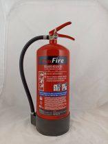 Vízzel oltó tűzoltó készülék