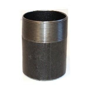 Menetes csővég tűzivíz tározóhoz -  113 mm átmérő, acél, Storz csatlakozó rögzítéséhez