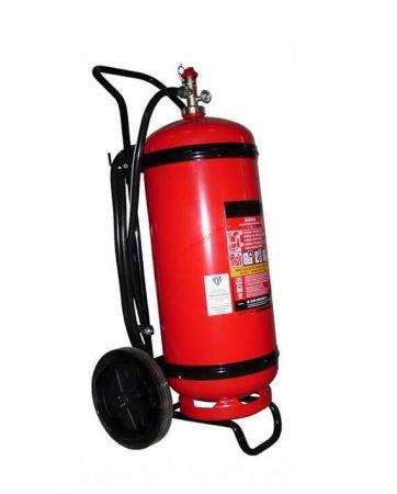 MAXFIRE 50 kg-os Porral oltó szállítható tűzoltó készülék - IIIB RAKTÁRON