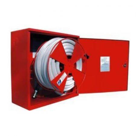 P & H – D25 tűzcsap szerkény 650x650x285 - alaktartó tömlővel 30m