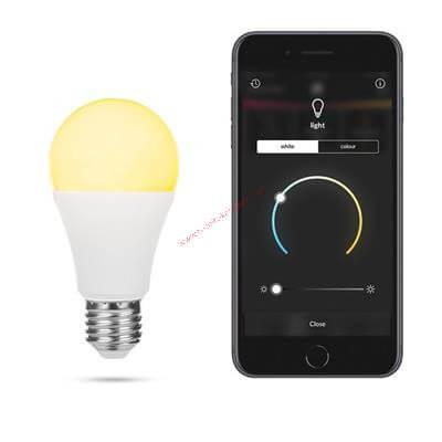 Smartwares Pro Okosotthon intelligens állítható színhőmérsékletű izzó (kiegészítő)