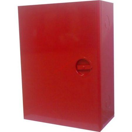Tűzcsap szekrény 520x390x185mm (komplett-szerelt) S&P - C52 (2 col-os)