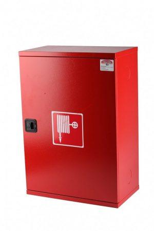 Tűzcsap szerelvényszekrény ÜRES 650x450x250 mm (TOD) - föld feletti és fali tűzcsapokhoz