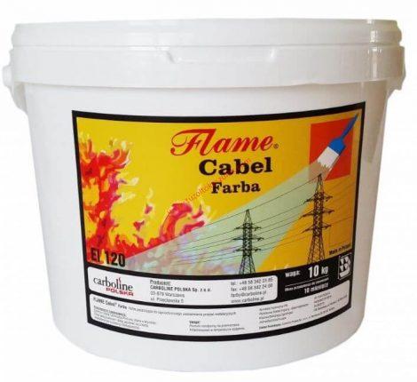 Tűzgátló, tűzvédő festék kábelre 10 kg-os vödör EI 120