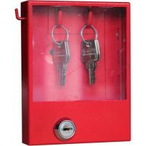 Betörőüveges kulcsdoboz vészkijárathoz, vészkulcsszekrény 145 x 115 x 30 mm