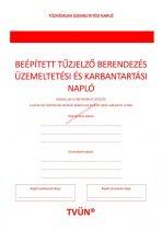 Beépített tűzjelző berendezés üzemeltetési és karbantartási napló