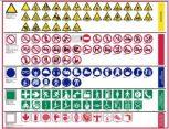 Biztonsági jelek és táblák (Utánvilágítók)