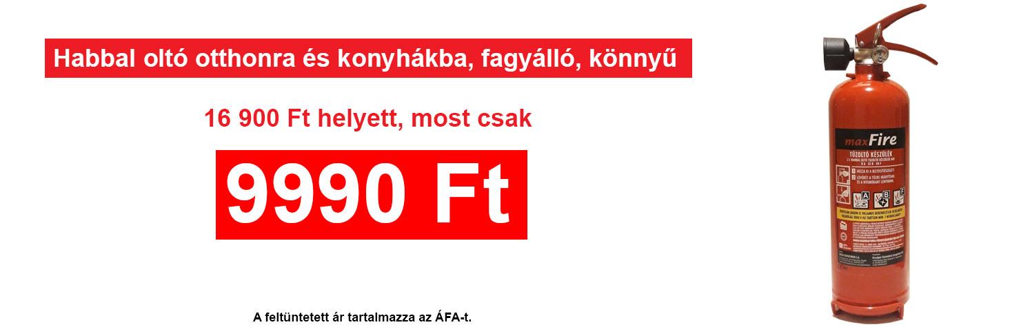 ABf habbal oltó akció, most csak 9990 Ft.