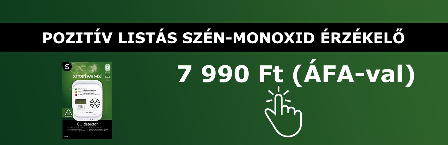 Smartwares szén-monoxid érzékelő